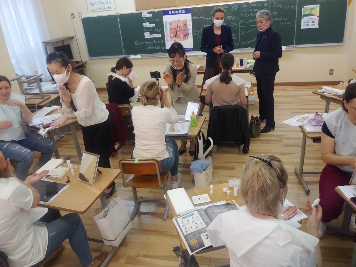 基礎化粧講習会